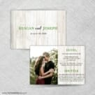 Jubilee All In One Invitation Front And Back Panel By New And Blue