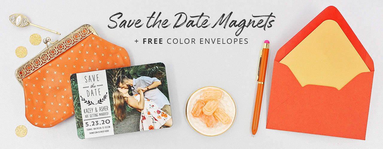 Save The Date Magnets With Free Color Envelopes 1280 500