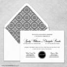 Park Avenue Nb Wedding Invitation With Envelope Liner