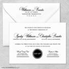 Park Avenue Nb Wedding Invitation With Envelope