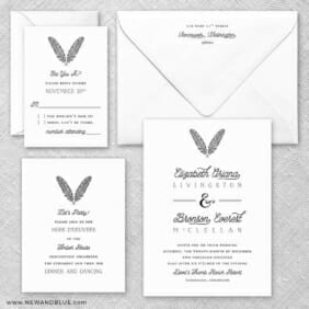 Scout Nb Wedding Invitation And Rsvp