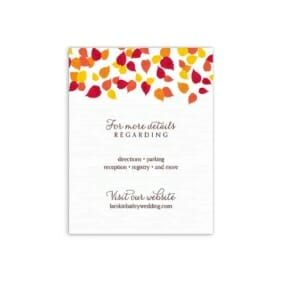 Celebration Love Nb Additional Insert Card White Back