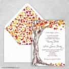 Celebration Love Nb Wedding Invitation With Envelope Liner