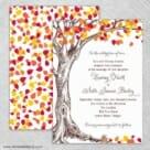 Celebration Love Nb Wedding Invitation With Back Printing