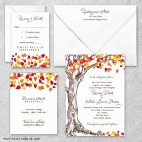 Celebration Love Nb Wedding Invitation And Rsvp