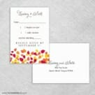 Celebration Love Nb Rsvp Card And Envelope
