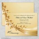 Triumph Nb Wedding Invitation With Back Printing