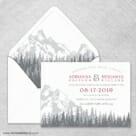 Livingston Nb Wedding Invitation With Envelope Liner