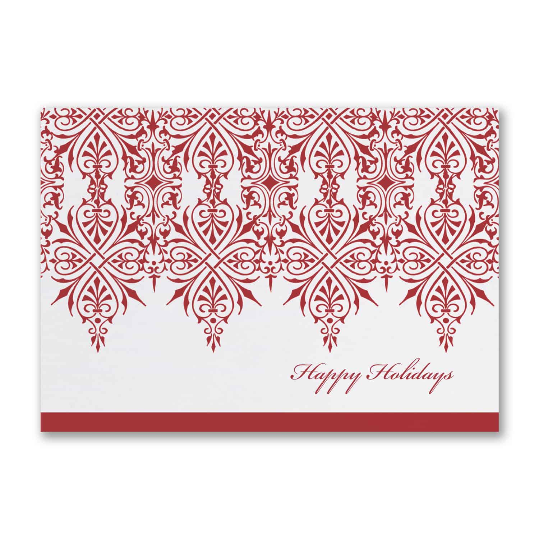 majestic border  seasons greetings cards