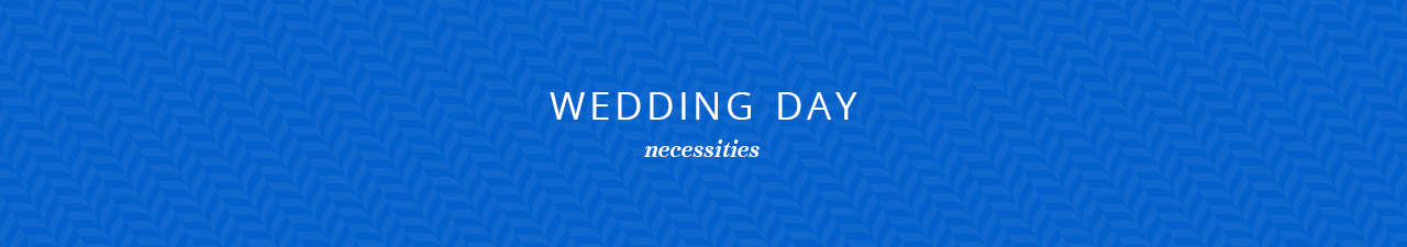 Wedding Day Necessities Shop Now