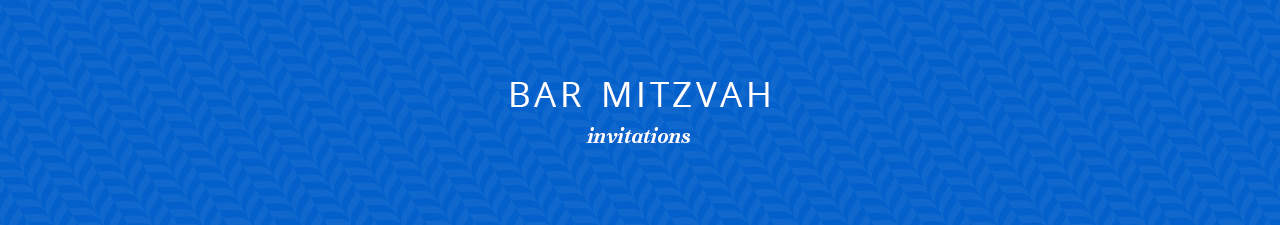 Bar Mitzvah Shop Now