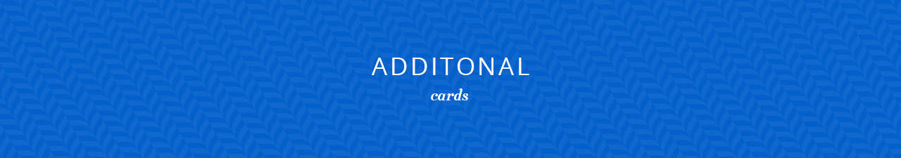 Additional Cards Shop Now