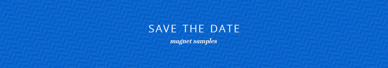 Save The Date Magnet Samples Shop Now