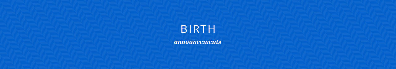 Birth Announcements Shop Now