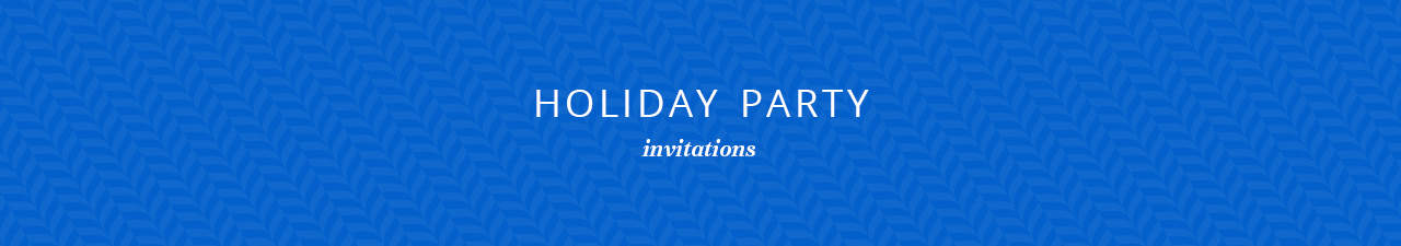 Holiday Party Invitations Shop Now