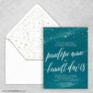 Estrella Nb Wedding Invitation With Envelope Liner