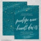 Estrella Nb Wedding Invitation With Back Printing