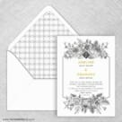 Harlow Nb Wedding Invitation With Envelope Liner