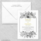 Harlow Nb Wedding Invitation With Envelope