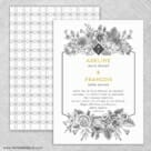 Harlow Nb Wedding Invitation With Back Printing