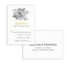Harlow Nb Rsvp Card And Envelope White Background