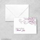 Ballroom Nb Thank You Card And Envelope