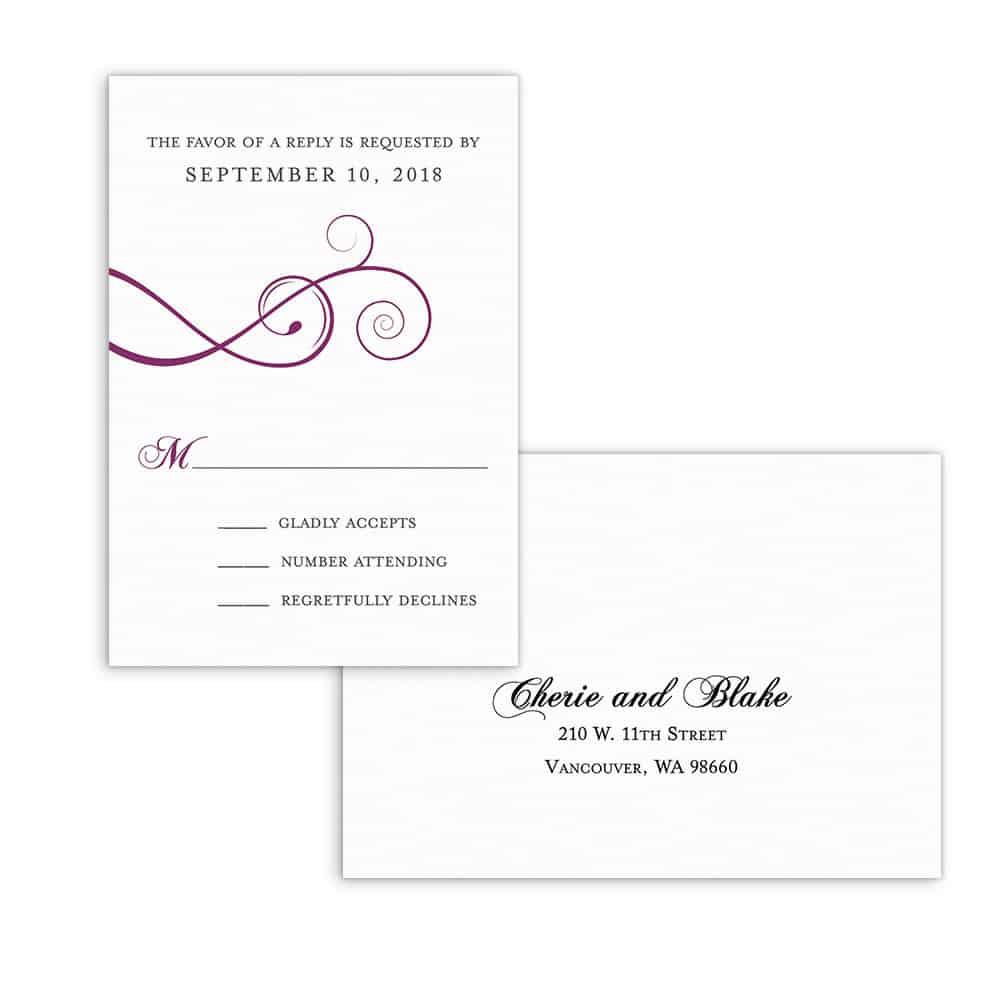 Ballroom Nb Rsvp Card And Envelope White Back