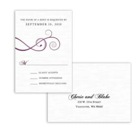 Ballroom Nb Rsvp Card And Envelope White Back