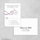 Ballroom Nb Rsvp Card And Envelope