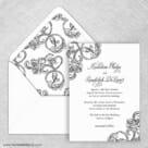 Amsterdam Nb Wedding Invitation With Envelope Liner