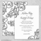 Amsterdam Nb Wedding Invitation With Back Printing