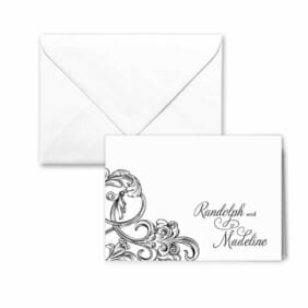 Amsterdam Nb Thank You Card And Envelope White Background
