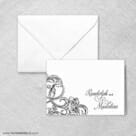 Amsterdam Nb Thank You Card And Envelope