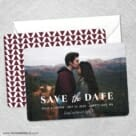Sincerely Yours Nb Save The Date Wedding Card
