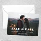 Sincerely Yours Nb Save The Date Party Card