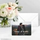 Sincerely Yours Nb Save The Date Card With Envelope