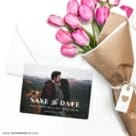 Sincerely Yours Nb Save The Date Cards With Envelope