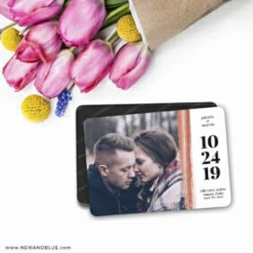 Stroke Of Luck 7 Wedding Save The Date Magnets