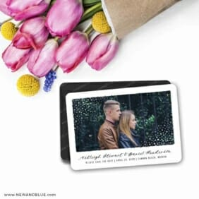 Gleaming Frame 7 Wedding Save The Date Magnets