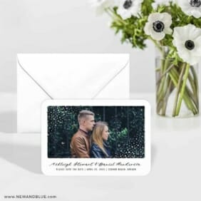 Gleaming Frame 6 Wedding Save The Date Magnets