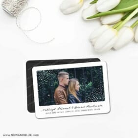Gleaming Frame 5 Save The Date Magnet