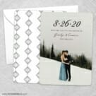 Simply Smitten Save The Date Wedding Card