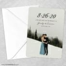 Simply Smitten Save The Date Party Card