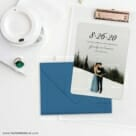Simply Smitten Save The Date Cards And Optional Color Envelopes