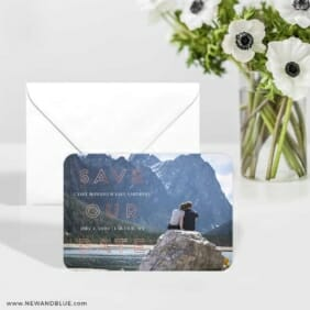 Eloquent Expression 6 Wedding Save The Date Magnets