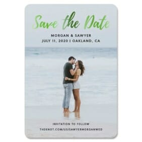 Endless Love 1 Save The Date Foil Magnets