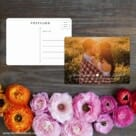 Follow Your Heart Save The Date Postcard With Back