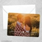 Follow Your Heart Save The Date Party Card