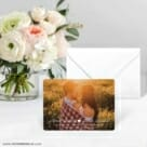 Follow Your Heart Save The Date Card With Envelope