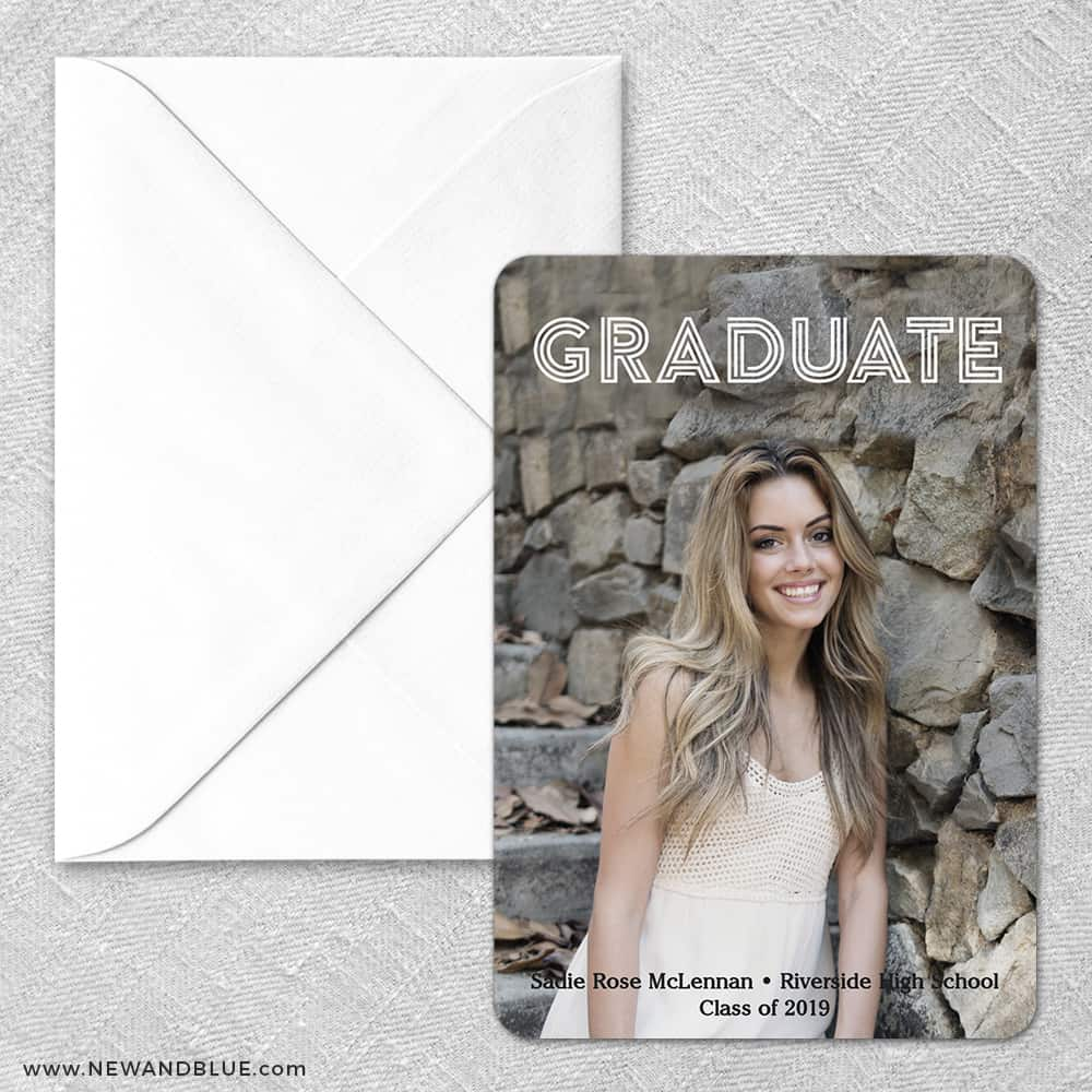Tassel NB Classic Save The Date Magnet